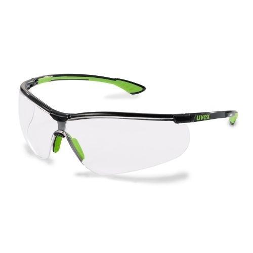 uvex Schutzbrille sportstyle, 9193265, PC farblos, kratzfest, beschlagfrei