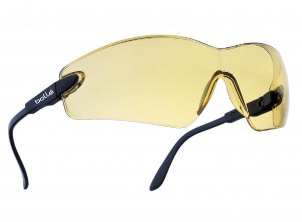 bolle Schutzbrille VIPER - VIPPSJ, gelbes PC, Panoramasichtfeld, längenverstellbare Bügel