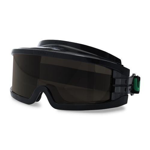 uvex Schweißer-Vollsichtbrille 9301145 ultravision mit Kopfband, PC grau, Schutzstufe 5