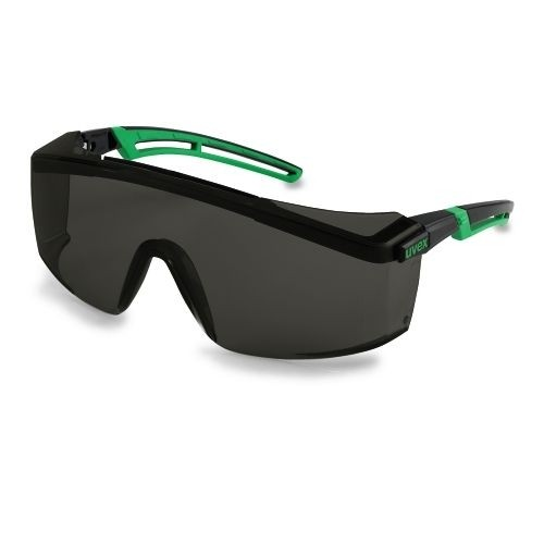 uvex Schweißerschutzbrille 9164144 astrospec 2.0, PC grau, Schutzstufe 4, Panoramascheibe