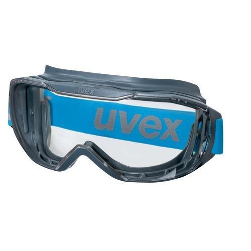 uvex Vollsichtbrille 9320265 megasonic, PC farblos, kratzfest, beschlagfrei