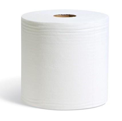 #100 Einweg Polier und Wischtücher weiß, 29 x 38 cm, 475 Wischtücher auf Rolle