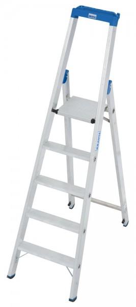 Krause STABILO Stufen-Stehleiter mit Multifunktionsschale