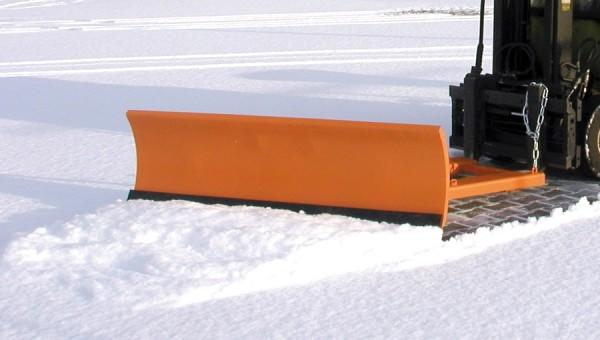 Bauer Schneeschieber Typ SCH 2-fach verstellbar zur Gabelzinkaufnahme