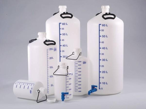 Vorratsflaschen mit / ohne Gewindestutzen 5-60 Liter