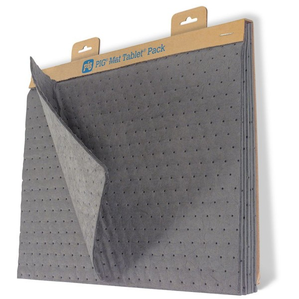 Universal MAT TABLET Pack, Heavy Saugmatten, grau, 36 x 51 cm