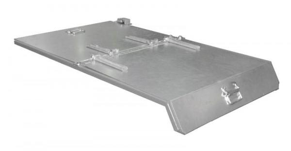 Bauer 2-teiliger verzinkter Deckel für Spänebehälter Typ S3S 300