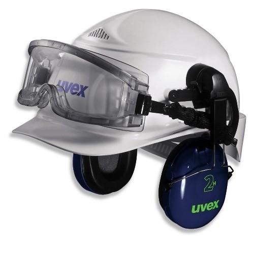 uvex Vollsichtbrille 9301544 ultravision mit Helmhalterung, CA farblos, beschlagfrei