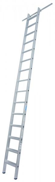 Krause STABILO Stufen-Regalleiter mit 2 Einhängehaken