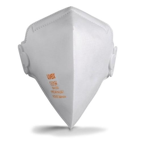 uvex Atemschutzmaske silv-Air c 3200 FFP2 NR D, Faltmaske ohne Ventil