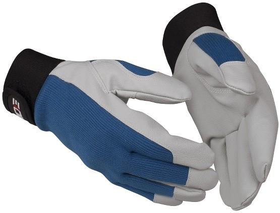Sicherheitshandschuhe 768 Guide PP, aus Baumwolle/Synthetikleder, Klettverschluss