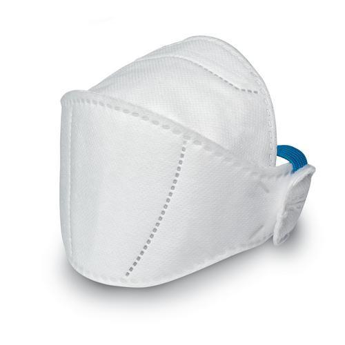 uvex Atemschutzmaske silv-Air premium 5100+ FFP 1 NR D, Faltmaske ohne Ventil