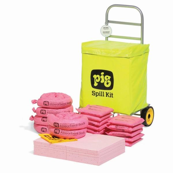 Trolley-Wagen-Notfallkit Chemikalien KITE350