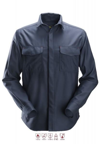 Snickers Workwear 8564 ProtecWork Langarm Schweißerhemd, Hitze-, Flamm-, Lichtbogenschutz