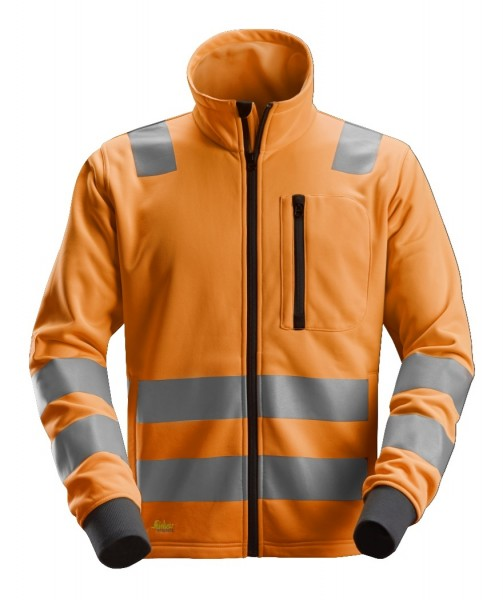 Snickers Workwear 8036 AllroundWork High-Vis Fleece-Jacke, EN 20471 Klasse 2/3*