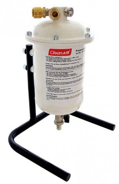 CleanAIR Pressure Conditioner mit Halterung