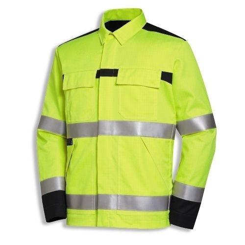 uvex Schutzbekleidung protection multi function+high-vis Jacke mit Umlegekragen Modell 4741