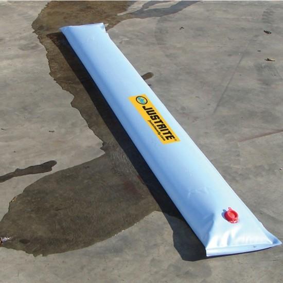 Justrite Wassergefüllter Flüssigkeitsumlenker 28454, blau, 7,6 m