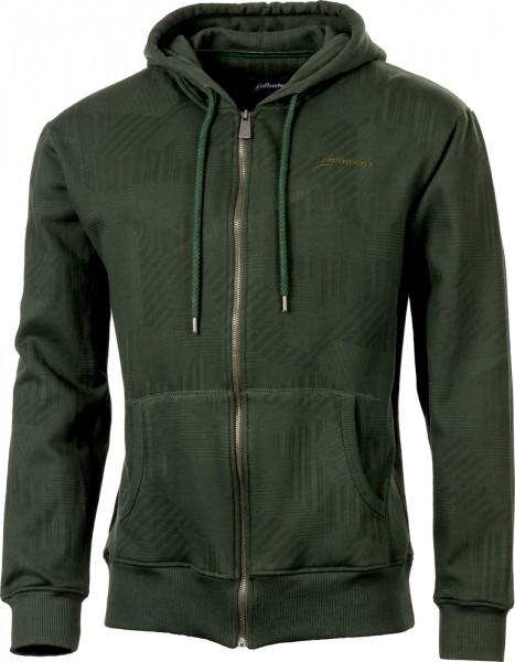 Albatros SCOUT Sweatshirt-Jacke oliv/schwarz mit Kapuze