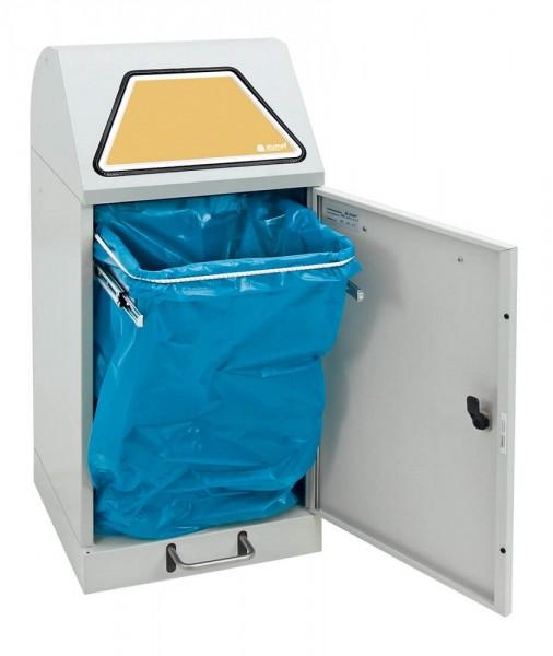 Stumpf Metall Abfalltrennung Modul-Vario 60, ProSlide-System, 60 Liter, Trethebel