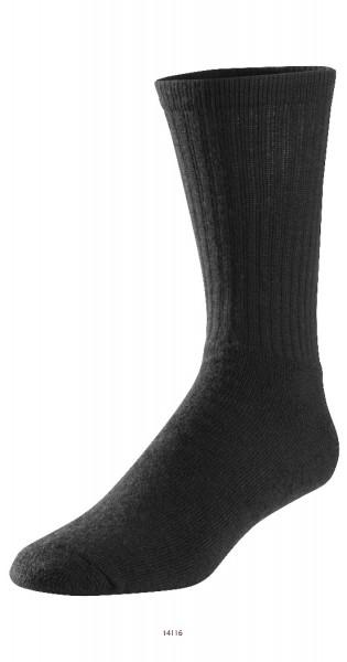 Snickers Workwear 9261 ProtecWork Wollfrottee-Socken schwarz, Flammschutz