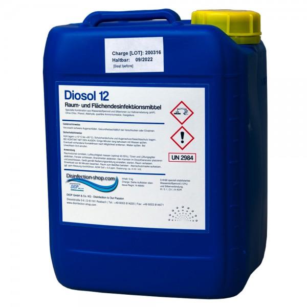 Diosol Fächendesinfektionsmittel H2O2 Wasserstoffperoxid 19%
