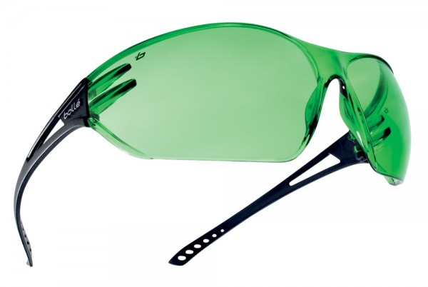 bolle Schutzbrille SLAM - SLAWPCC2, Schweißer PC Tönung 1,7, Panoramasichtfeld, Komfortbügel