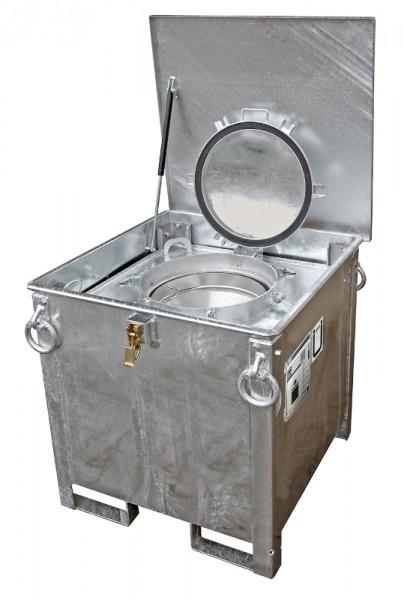 Bauer Sammelbehälter Typ ASB 250, Internationale Beförderung gefährlicher flüssiger Güter