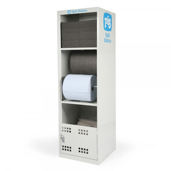 Universal-Absorptionsmittel-Doppelpack mit Kostenlosem Spill-Stationsschrank