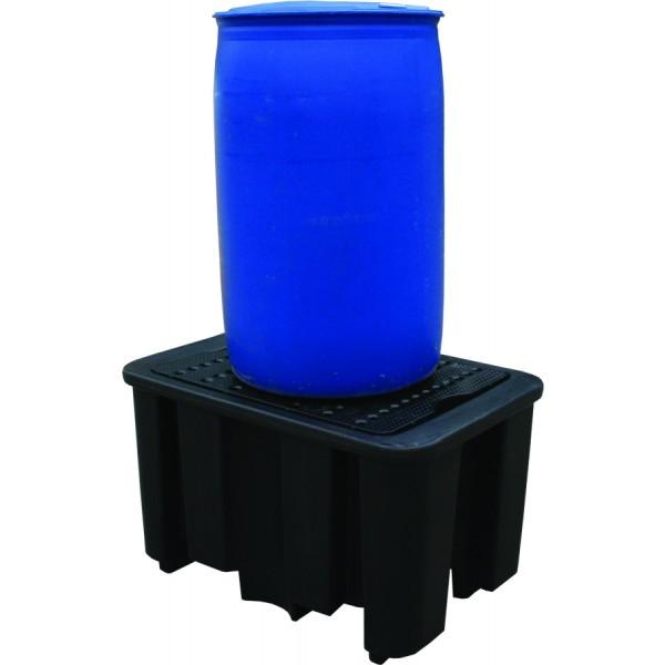 Essentials 1-Fass-DIBt-PE-Auffangpalette, 250 Liter, PAKE230SWD