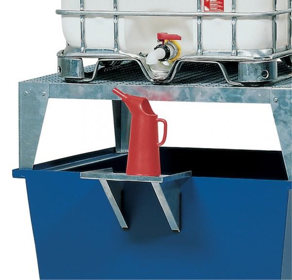 Kannenträger Stahl verzinkt für IBC Stationen Stahl