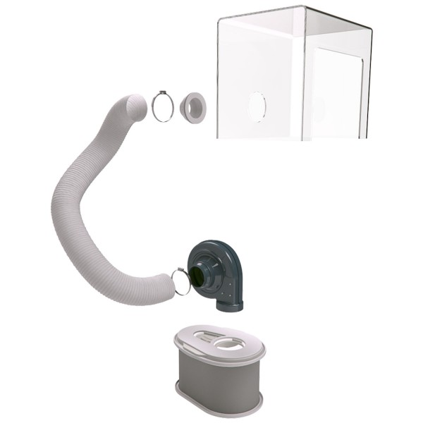 Fumex Mobiles Filter Kit LFK 350CG/115, Gasfilter, LF 50G/115, DSK 350, US-Stecker*