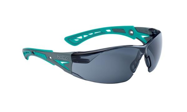 bolle Schutzbrille RUSH+ SMALL - RUSHPSPSFG, Rauchglas, grün/grau, für schmale Gesichter