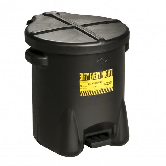 Eagel Entsorgungsbehälter 933FL, 22,8 L, Polyethylen (PE), mit Fußpedal