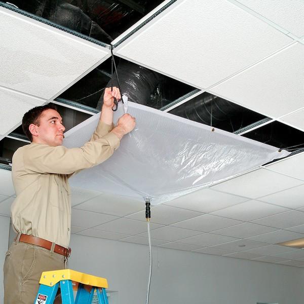 Leak Diverter-Eimerkit TLS667, 152 x 152 cm, für Dächer