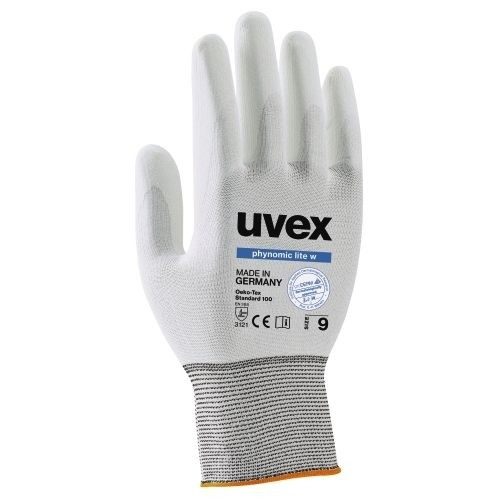 uvex Schutzhandschuhe phynomic lite, Innenhand und Fingerspitzen mit Imprägnierung