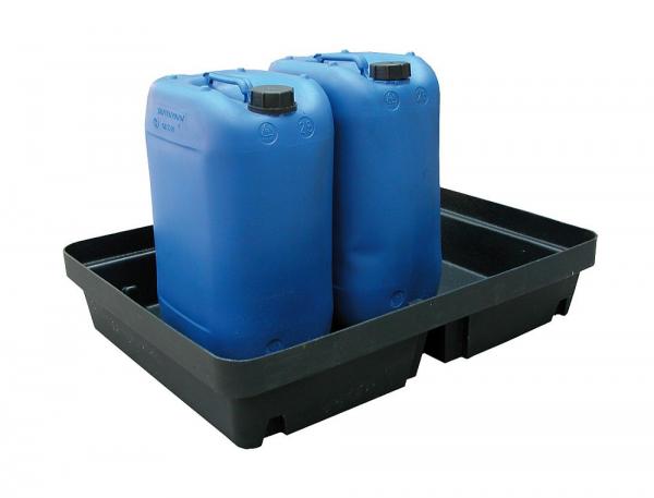 Essentials DIBt-PE-Auffangschale ohne Gitterrost, 40 Liter, PAKE274SWD