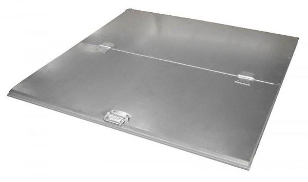 Bauer 2-teiliger verzinkter Deckel für Kippbehälter Typ VD 800 / VG 900