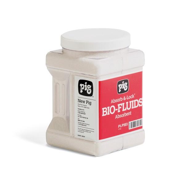 Absorb-&-Lock Bioflüssigkeiten Absorptionsmittel 4 Streuflaschen im Karton