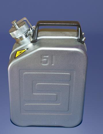 Original Salzkotten Sicherheits-Kanister Typ 300, 5 Liter mit Schraubkappe, UN-Zulassung