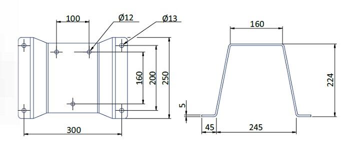 fumex-wandhalterung-cv-pr-abmessung
