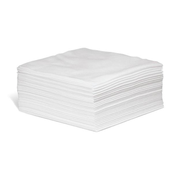 #100 Einweg Polier und Wischtücher weiß, 33 x 33 cm, 300 Wischtücher im Karton