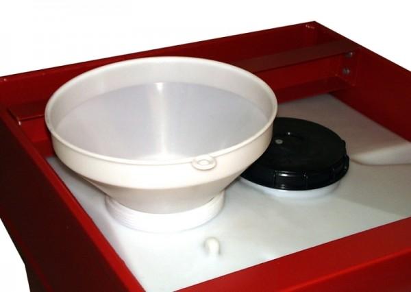 Bauer Befülltrichter aus Polypropylen für Mobicont Typ M 800