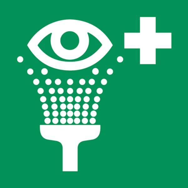 B-Safety Hinweisschilder für Augenduschen, gemäß ISO 7010