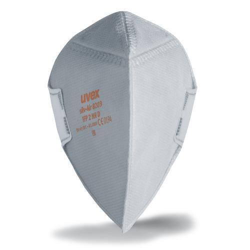 uvex Atemschutzmaske silv-Air p 8203 FFP2 NR D, Faltmaske ohne Ventil