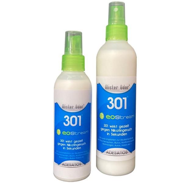 EOStream BDLC 301 in der Pumpflasche entfernt Nikotingeruch schnell und effektiv