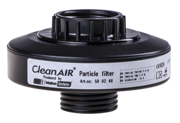 """CleanAIR P3-Filter mit zwei Gewinden RD40×1/7"""""""