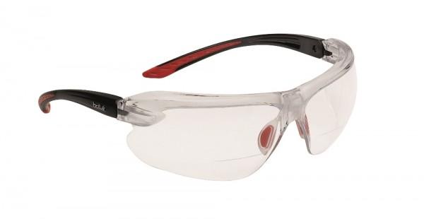 bolle Schutzbrille IRI-S - IRIDPSI2, klares PC mit optischer Lesekorrektur +2,0