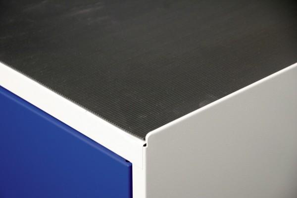 Stumpf Metall Riffelgummi Schrankauflage, Serie 3000, Breite 1000 mm