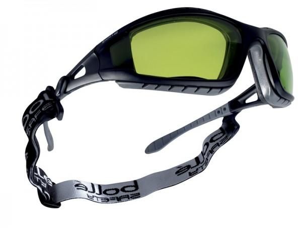bolle Schutzbrille TRACKER - TRACWPCC2, Schweißer PC Tönung 1,7, Bügel mit Gummiband